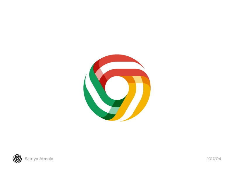 Icon / logo idea for Google Chrome typography type monogram mark logotype logo lettering illustration icon flat design google