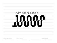 10000 / 10K followers