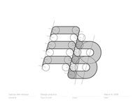 Construction BE / EB monogram   logo   logotype