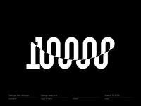 10000 / 10K followers (3)