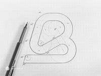 The letter b | Logo | Logotype | Monogram