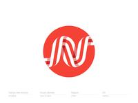 The letter N for Nippon | Logo, Monogram, Mark, Icon