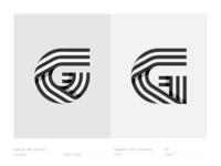 Letter G - Logo, logotype, monogram, icon