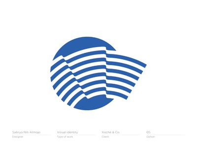 Flag symbol - logo, branding, icon
