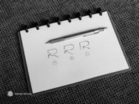R for Repost #1 - Logo, Mark, Icon, Branding, Monogram