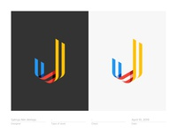 Letter J - Logo, Mark, Icon, Branding, Monogram