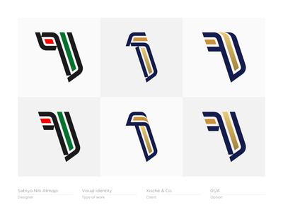 Number 1 #1 - Logo, Mark, Icon, Branding, Monogram