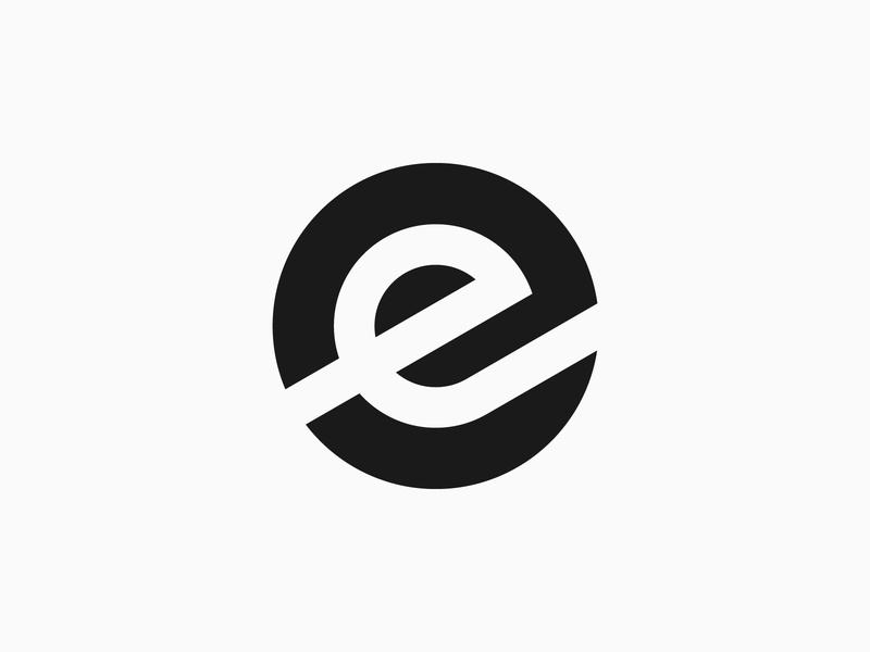 Letter E - Logo, branding, logotype, letter branding design type typography monogram logotype lettering icon minimalist logo simple logo logo