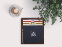Café - Bar, Menu