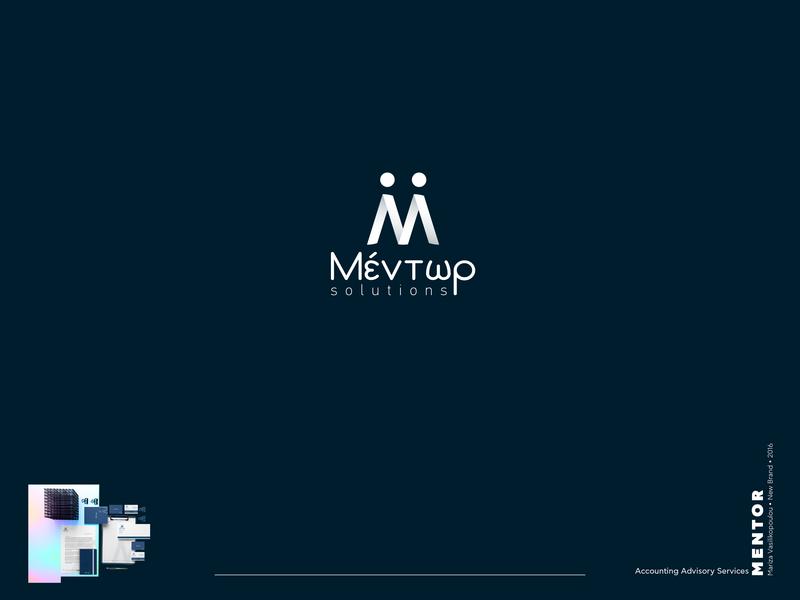 Mentor Logo creative  design detail vector typography design mentors mentorship financial accounting mentor brand branding design brand identity brand design branding logodesign logo design logotype logos logo