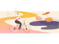 Cycling Angel