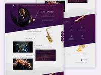Symphony web page