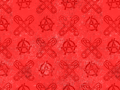 Another Council Tenancy red punk distressed pattern wallpaper music photoshop e-mail template
