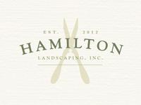 Hamilton Landscaping Logo