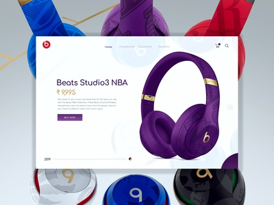 Beats Studio3 NBA collection