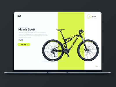 Maxxis scott mountain bike