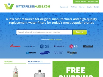 Waterfilter4less Site