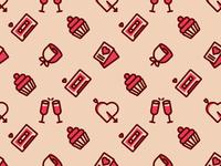 Valentines Day Pattern in Shop!