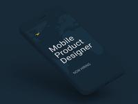 Mobile Product Designer
