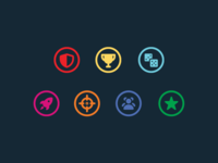 Card type icons