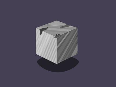 Metal Cube Material