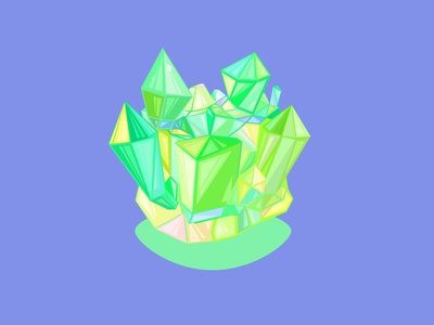 Crystal Cube Material