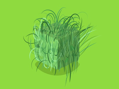 Grass Cube Material