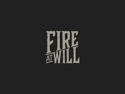 Fire At Will logo