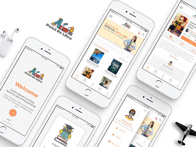 Online Book Store by Rahul Kanavaje on Dribbble