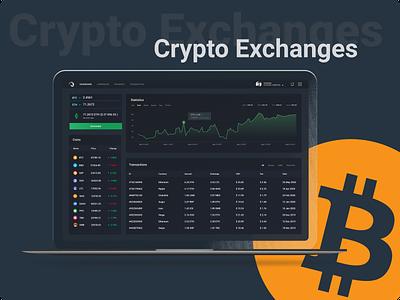 CryptoExchange ethereum etsy crypto exchange bitcoin wallet chart design chart uiux dashboard crypto dashboard interface web dark mode dark ui crypto ui ui bitcoin cryptocurrency crypto wallet btc crypto