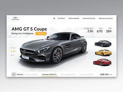 Rent Car figma rental rent a car web design rent car rent ui ux