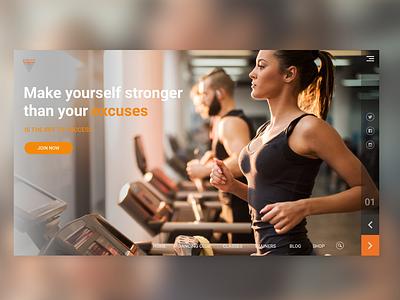 Fitness & Gym club sport club web woman gym club fitness gym sports sport workout