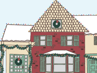 Bright lights, cozy homes, and warm wishes