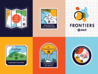 Frontiers Stickers