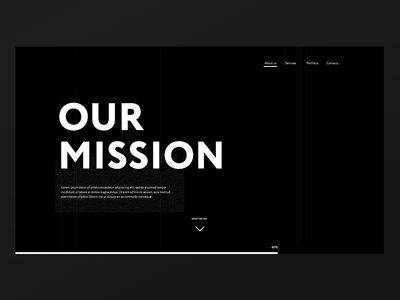 Our mission screen