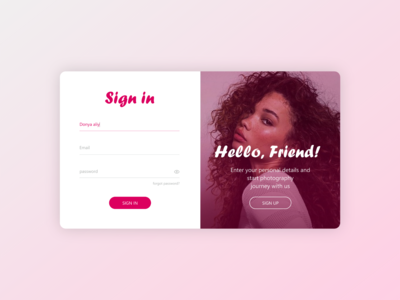 sign in-sign up