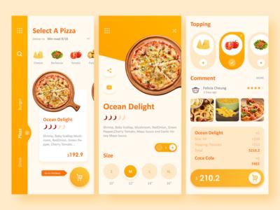 Online Food Delivery App UI Deisgn