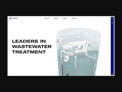 August.lt web design webdesign website animation 3d animation 3d design ui landing page