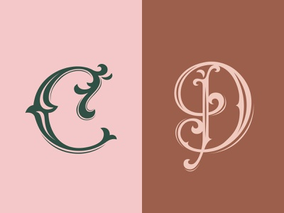 36 Days of Type — C/D vintage type vintage heritage vectorart vector typography design type design typography type letter lettering digital art challenge calligraphy 36daysoftype-d 36daysoftype-c 36days-d 36days-c 36daysoftype07 36daysoftype