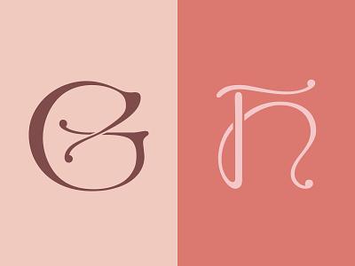 36 Days of Type — G/H vector art typography art 36days-g 36days-h 36daysoftype-h 36daysoftype-g vintage art nouveau challenge calligraphy digital art letter vector typography design typography type design type 36daysoftype07 36daysoftype