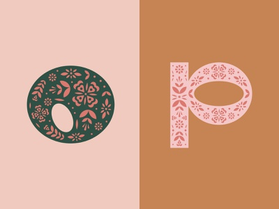 36 Days of Type — O/P ornament lettering digital art vector art letters vector typography design 36daysoftype-p 36daysoftype-o 36days-p 36days-o 36daysoftype07 36daysoftype typography type design type