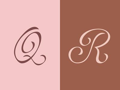 36 Days of Type — Q/R calligraphy letters lettering vector vector art digital art type design type typography design typography 36daysoftype-r 36daysoftype-q 36days-r 36days-q 36daysoftype 36daysoftype07