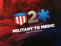 Military to Medic Logo