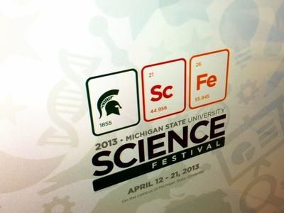 MSU Science Festival Logo logo vector branding msu science