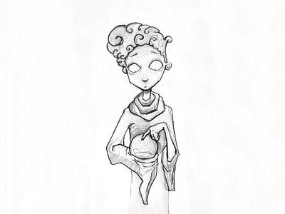 Eddie Wizard characterdesign character gameconcept sketch conceptual pencilart fantasyart illustration gameart indiegame indiedev gamedev