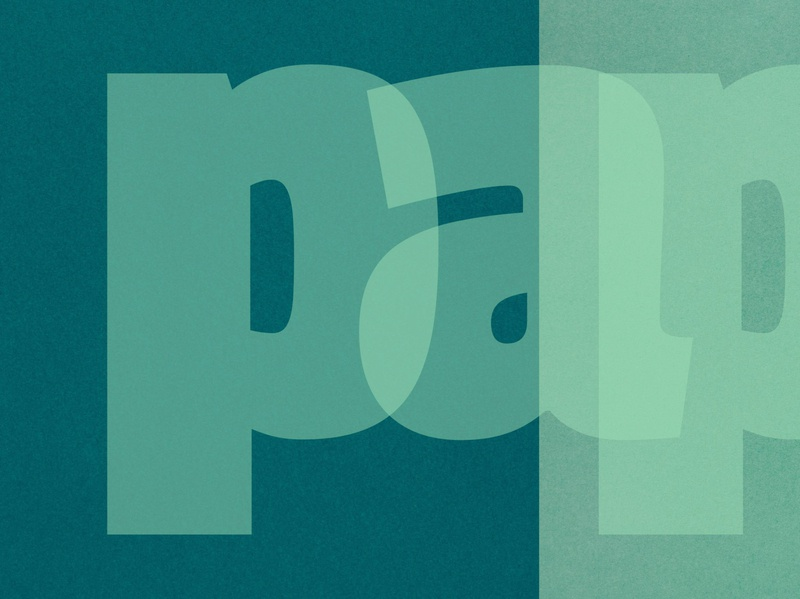 P A P E R M A N overlay font logo logotype vector typography lettering graphic design design custom type