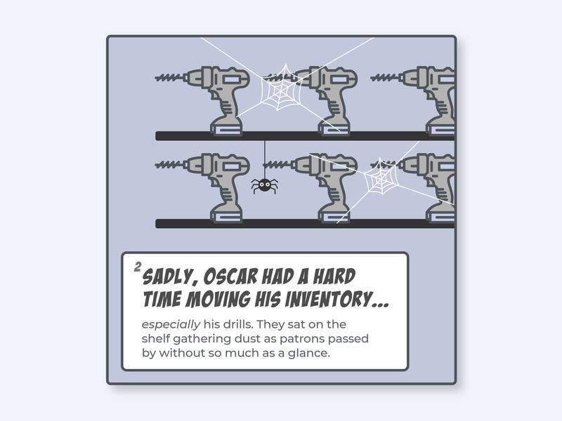 Oscar's Comic Strip comics metacx outcomes customer success tech saas comic book comic art strip comic