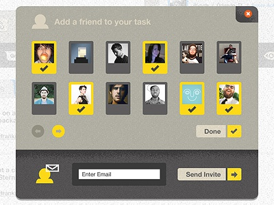 Yorco Task (Popup) web app ipad tablet to do social
