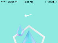 Nike app exhausted