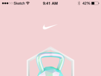 Nike app kettlebell